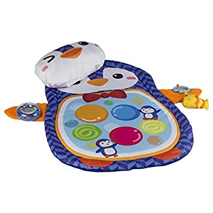 WinFun - Alfombra de juegos para bebés con forma de pingüino (ColorBaby 44239)