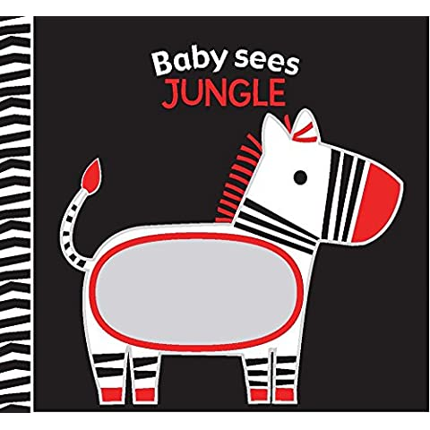 Jungle: A Soft Book and Mirror for Baby!