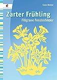 Zarter Frühling: Filigrane Fensterbilder