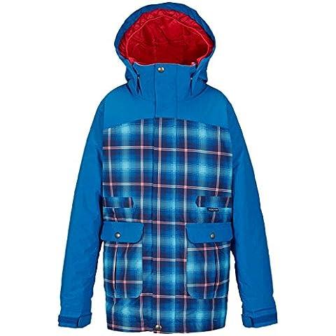 Burton ragazza Girls Maddie Jacket giacca da snowboard, flynn pld/heron