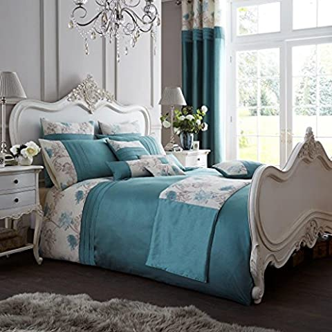 New Luxury Teal Duvet Covers Set with Pillow Cases King Bed Size Koh Bedding Quilt cover sets