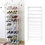 Schuhablage Schuhschrank Schuhregal Schuhständer für 30 Paare Schuhe Regal