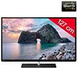Toshiba 50L4333DF - 50' L4 Series LED-backlit LCD TV - Smart TV - 1080p (FullHD) - matte black + SWV3432S/10 HDMi Cable - 24 Carat gold-plated connectors - 1.5 m