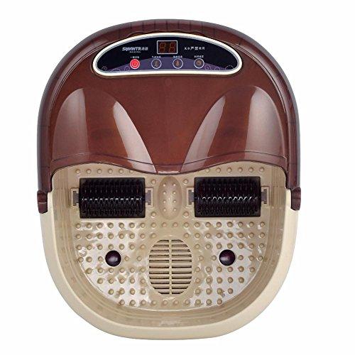 LPY-Massage Fuß Therapie Fuß Spa 3D-Rollenmassage Konstante Temperaturheizung Mit Tragegriffen