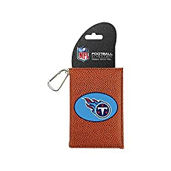 NFL Tennessee Titans Classic Football ID Holder, One Size, Brown