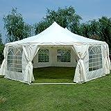 Quictent Festzelt, wasserdicht, strapazierfähig, groß, Partyzelt Garten Pavillon Eventschutz