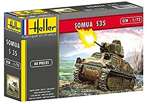 Heller - 79875 - Maqueta para construir - Somua - 1/72