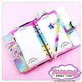 A5 - PERSONAL - REFILL handmade per agende planner per Diario Personale Arcobaleno