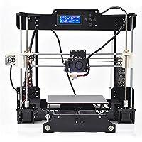 KinshopS Anet A8 Professional DIY 3D Color Printing Printer Acrylic Frame Mechanical Kit Print 3 Materials LCD Filament Aluminum Structure