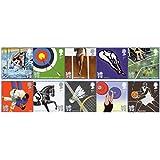 2009Juegos Olímpicos y Paralímpicos–Londres 2012–10x 1st Class Royal Mail franqueo sellos