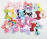 Cani Regno artigianale bella e Pet cute Bow Tie Dog fermacapelli e forcina pacchetto di 30/50/80/100pcs colore casuale
