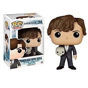 Funko Sherlock Holmes con calavera (Sherlock 290) Funko Pop Sherlock
