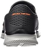Skechers Sport Men s Equalizer Double Play Slip-On Loafer Charcoal/Orange 9.5 D(M) US