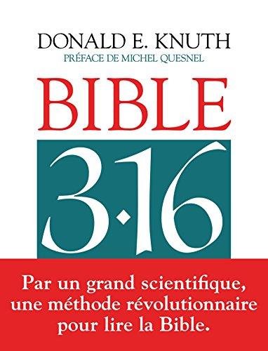 Bible 3 : 16 par Donald KNUTH