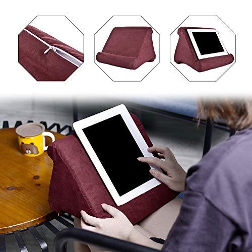 strety Tablet Kissen Kissenhalter Stand, Mini Tablet Computer Halter, Multi-Angle Soft Pillow für Tablets, E-Reader, Smartphones, Bücher, Zeitschriften (Tablet-kissen)