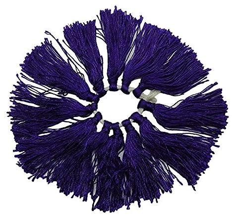 Latkans décoratif pourpre Discussion salwar kameez Crafting Glands Supply 1