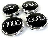 Set von 4 Alufelgen Mittelkappen Chromabdeckungen Schwarz Ring Abzeichen 77 mm 4L0 601 170 Audi Q5 Q7 4L0601170 S-Line Quattro und andere Modelle passend für vier Alufelgen Mittelnabenkappen Abdeckung Schwarzes Chrom Abzeichen 77 mm 4L0 601 170 Passend für Audi Q5 Q7 S-line Quattro und andere Modelle 4L0 601 170