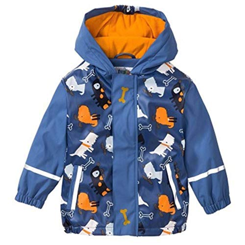 NHDYZ Regenmantel 85-115Cm wasserdichter Regenmantel Poncho Jacken im Freien Regenanzug Regenmantel für Kinder Kinder, D, M