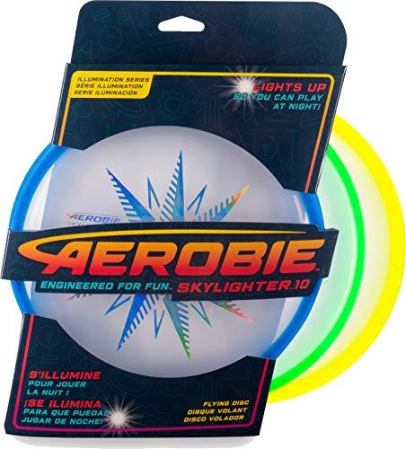 Aerobie 6046475 - Skylighter, leuchtender Frisbee mit Durchmesser 30cm, farblich sortiert