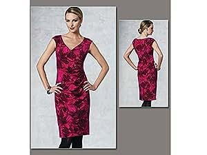 Vogue Anne Klein 1192 Motif Patron de couture pour robe Tailles :  40–45, 7 48–50