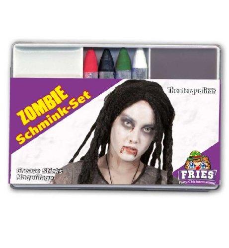 Schminkset Zombie Halloween Schmink-Set Schminke Grusel Monster