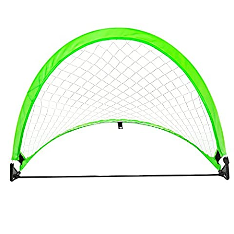 Soccer Goal, OMorc Portable Pop-Up Football Goal Foldable Soccer Net with Carry Bag for Kids Ideal for Backyard, Beach Playing, Training, Indoor & Outdoor Sports and Practice (28.7*20*1.2