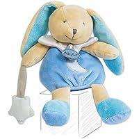 Babynat Babynat Lapin Lapinou pantin bleu et blanc luminescent avec étoile lune - 24