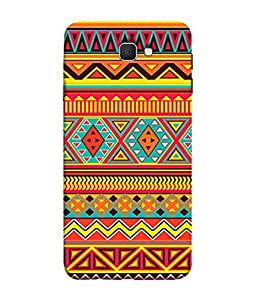 PrintVisa Designer Back Case Cover for Galaxy J 7 (flasy colourful yellow red black pink)