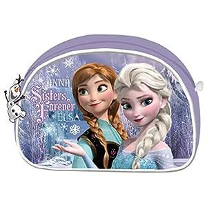 """Frozen, Bustina ovale per trucchi """"Sorelle per sempre"""""""