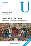 L'Europe au 19e siècle: Des nations aux nationalismes (1815-1914)