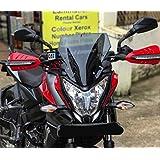 Generic J T Auto Universal Fibre Wind Sheld for KTM NS Hornet (2138911, Black)
