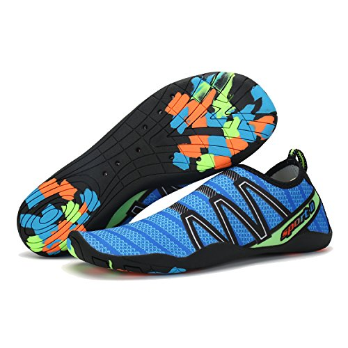 fb4247dc0eab Women and Men Quick-Dry Water Barefoot Running Gym Shoes for Beach Pool  Surf Yoga