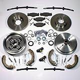 Bremsscheiben + Bremsbeläge vorne + Bremstrommeln + Brremsbacken + Radlager + Zubehör hinten + Bremsschläuche vorne + hinten