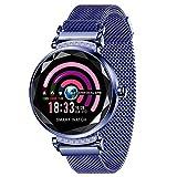 Reloj inteligente Nuevo H2 2019, rastreador de ejercicios, para mujeres Reloj deportivo inteligente con, monitor de presión arterial y oxígeno a prueba de agua / contador de pasos para Android e Ios