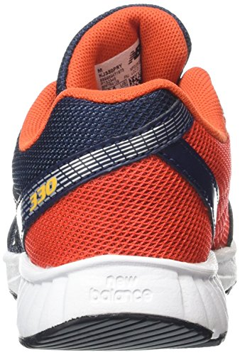 New Balance Kj330pry-330, Chaussures de Running Entrainement Mixte Enfant Multicolore (Black Red 079)