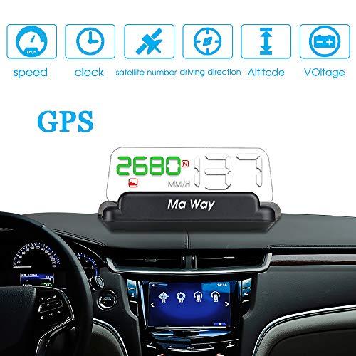 Ma Way HUD 2018 Head-up Display per Auto T900 Mirror HUD GPS
