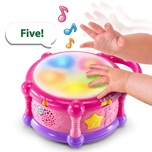 LeapFrog Learn and Groove Color Bilingual Play Drum - Online Exclusive Pink