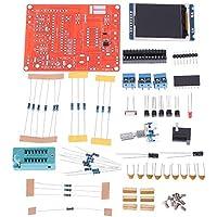 PPITVEQ DIY Transistor Tester LCR diodo de Capacidad ESR medidor de frecuencia del generador de señal PWM probador GM328 Onda Cuadrada Generador de Señal (Color : Negro)