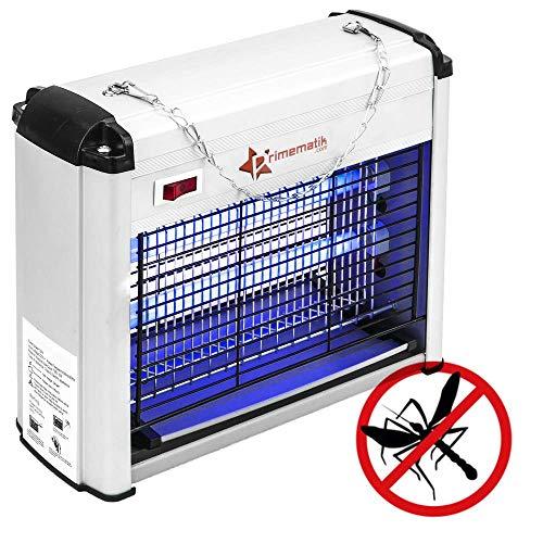 PrimeMatik - Lampe Anti Insectes Volants Tue-Mouche destructeur d'insectes Electrique Anti Moustique 12 W