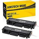 2 Stück Amstech Kompatibel Toner MLT-D116L MLT-D116S D116 116L 116S für Samsung Xpress M2675fn M2885fw M2835dw Toner Samsung Xpress M2625d SL-M2625 M2875fd M2825nd M 2625 M 2835 dw M 2675 fn M2675