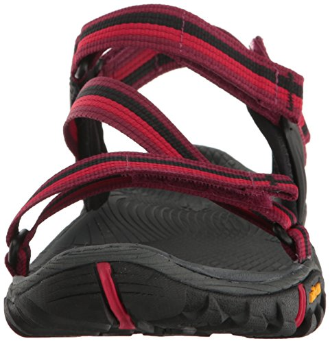 Merrell Damen All Out Blaze Web Sandalen Trekking-& Wanderschuhe Rot (Beet Red)