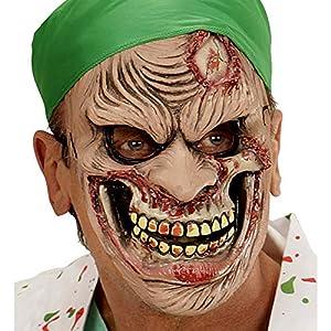WIDMANN vd-wdm00372Máscara Medio Viso Chirurgo Zombie, talla única