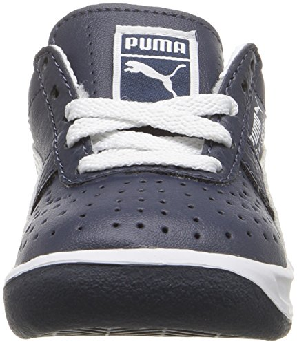 Puma Gv Special Kids Leder Turnschuhe New Navy/White