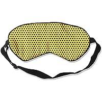 Yellow With Black Polka Dots 99% Eyeshade Blinders Sleeping Eye Patch Eye Mask Blindfold For Travel Insomnia Meditation preisvergleich bei billige-tabletten.eu