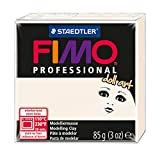 Staedtler 8027-03 - Fimo Professional Doll Art Normalblock, 85 g, porzellan
