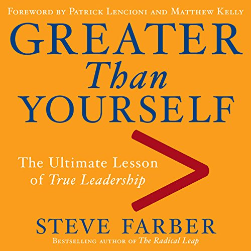 Greater Than Yourself  Audiolibri