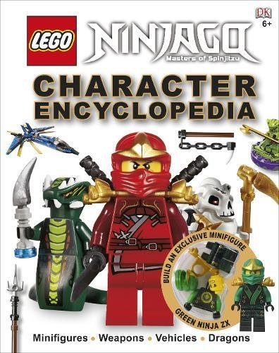 LEGO® Ninjago Character Encyclopedia: Includes Green Ninja FX minifigure por DK