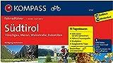 KOMPASS Fahrradführer Südtirol - Vinschgau, Meran, Weinstraße, Dolomiten: Fahrradführer mit Routenkarten im optimalen Maßstab.: Fietsgids 1:50 000 - Wolfgang Heitzmann