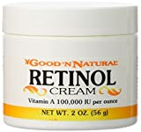 Puritan's Pride Retinol Cream, 2 oz, A 100,000 IU per oz from Good n Natural