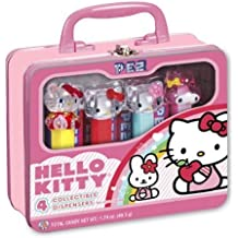 PEZ Gift Tin, Hello Kitty- 1.74 oz (49.3g) by Pez Candy
